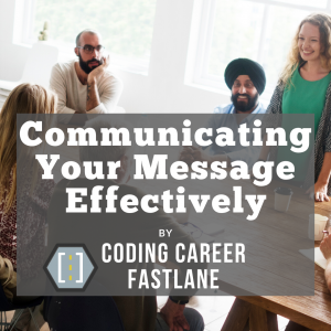 Communicate Effectively